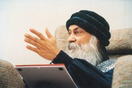 Osho speaking in discourse