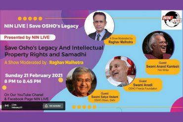 Zoom Save Osho's legacy