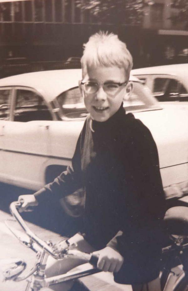 An adventurous spirit as a school boy