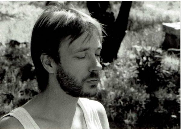 A young meditator – in 1982