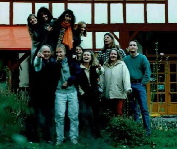 Member of the lively Parimal Commune, around 2000