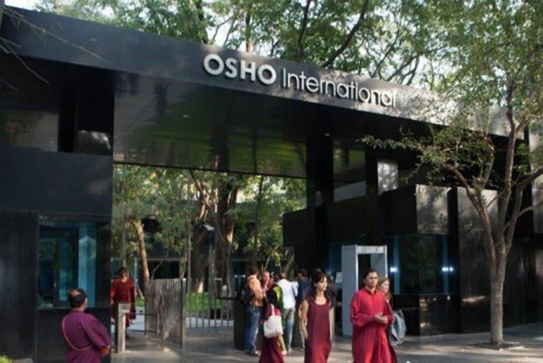 Osho International gate