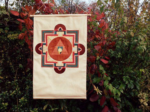 Chamunda Fierce Fire Offering Symbol, Tibet, 17th-18th Century