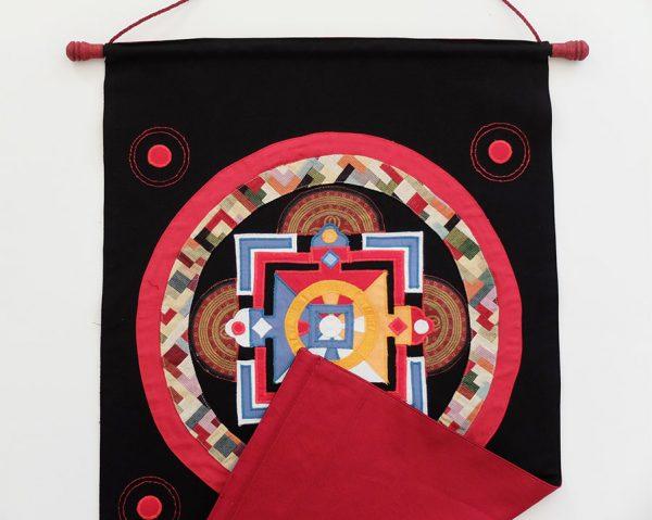 Mandala of Jnanadakini (Intuitive Wisdom Angel), Tibet, late 14th - early 15th Century