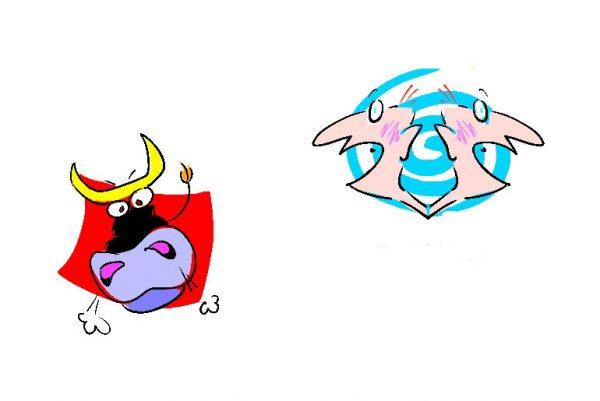 Taurus and Gemini