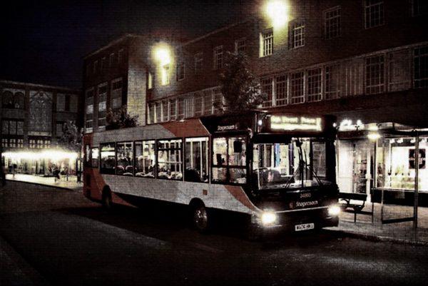 Bus grunge