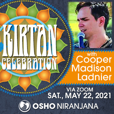 Kirtan Celebration with Cooper Madison Ladnier 22 May am