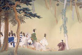 Ohara-Goko, partial painting