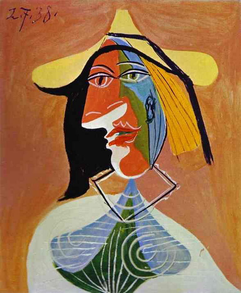 Picasso Painting of a woman