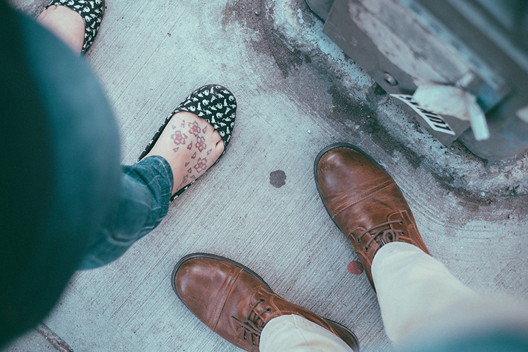 In the other's shoes: A revelatory relationship exercise