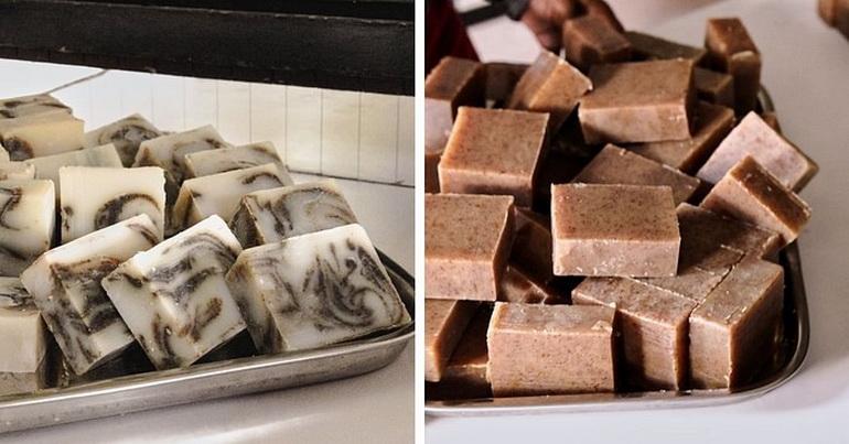 SOS Organics soaps