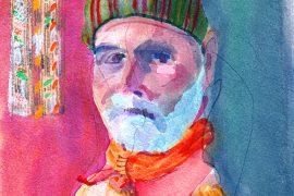 Self-portrait by Rashid