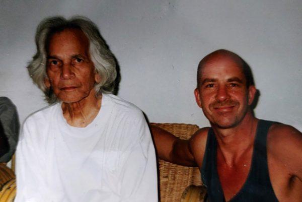 With UG Krishnamurti, approx. 2001