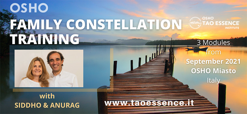 Osho Family Constellation Training with Siddho and Anurag at Osho Miasto September 2021