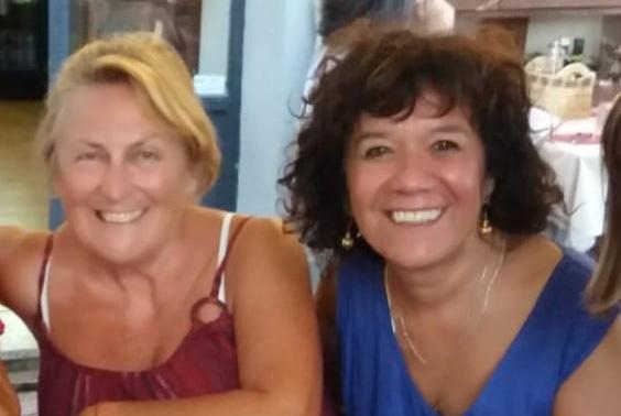 Letizia with Shakura