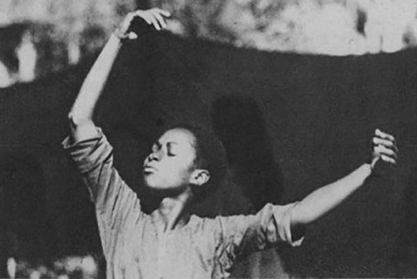 Smita dancing, 1976