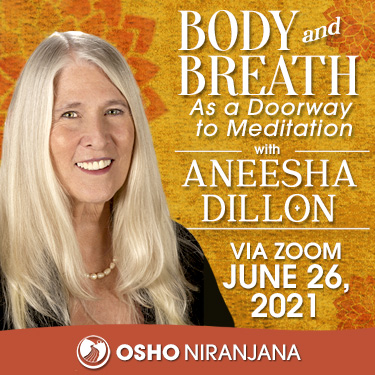 Body and Breath as a Doorway to Meditation 26 June
