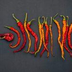 Dried-up chili