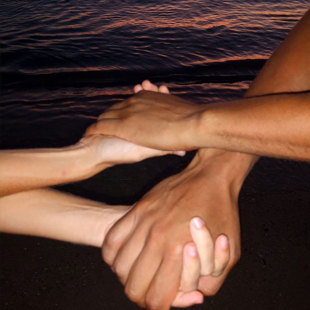 Crossed hands