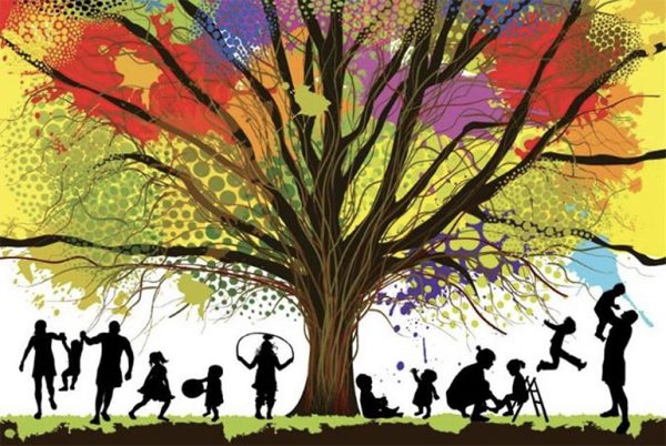 tree and families