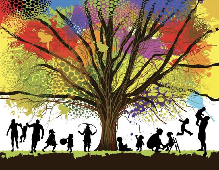 trees and families