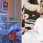 Collage ICU and meditation