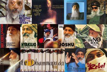 Osho books collage