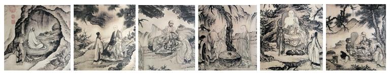 Zen Patriarchs Collage