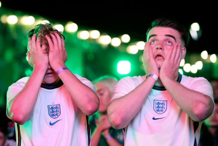 England lost