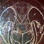 Zen Symbol on stone stele