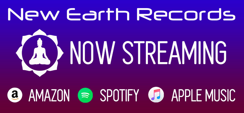 New Earth Records now Streaming, Spotify, Amazon, Apple Music