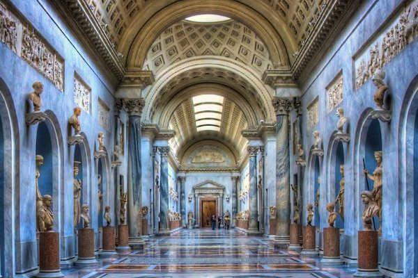 Vatican museum inside