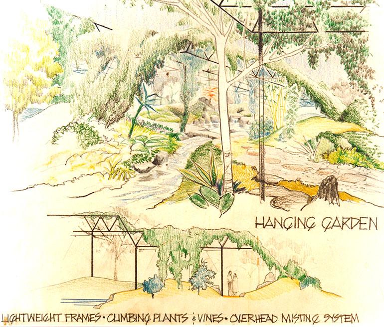 Osho Teerth Park - drawing