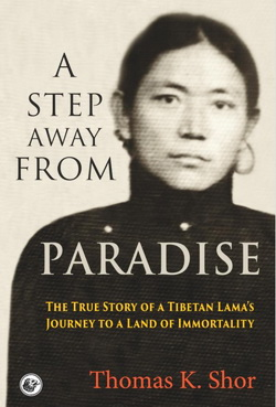 A Step Away from Paradise, book cover