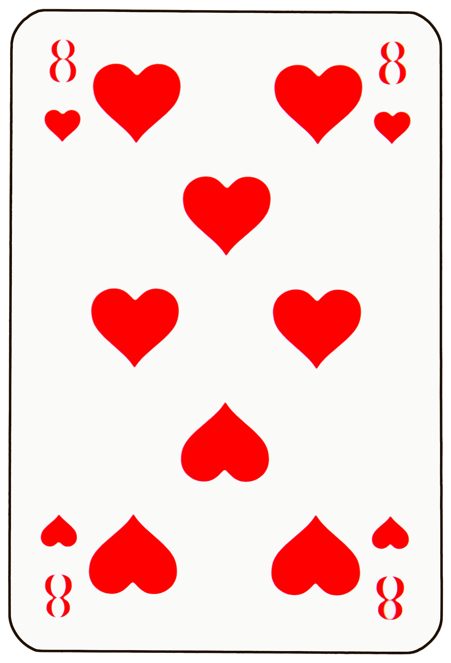 The 8 of Hearts