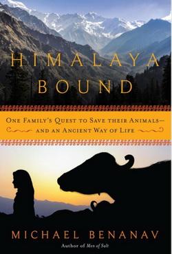 Himalaya Bound, book cover
