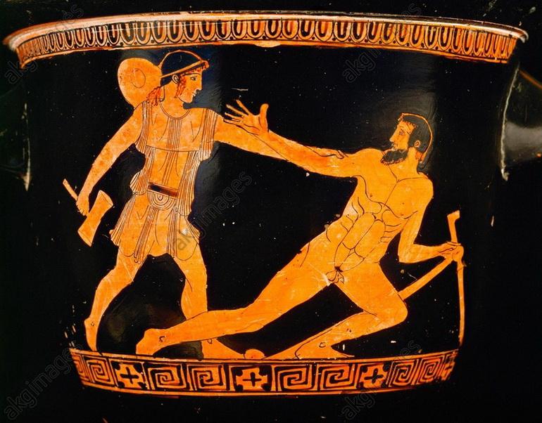 Theseus and Procrustes