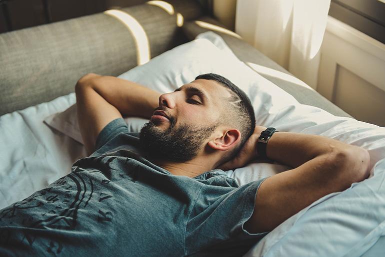 Go to sleep with a thankful heart